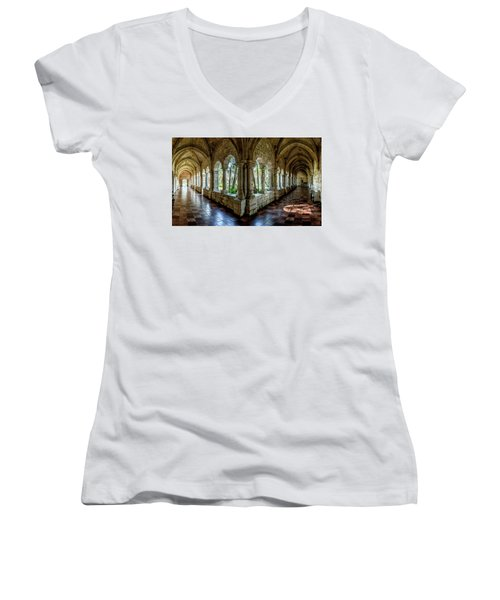 Spanish Monastery Women's V-Neck