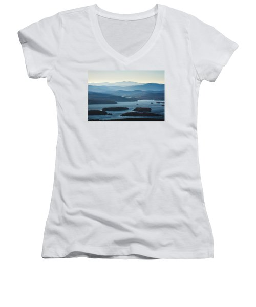 Squam Lake Women's V-Neck (Athletic Fit)