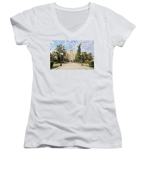 Kudrinskaya Square Women's V-Neck