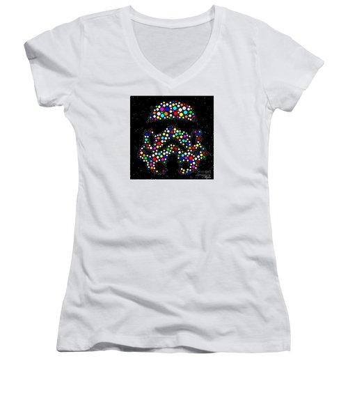 Star Wars Stormtrooper Women's V-Neck T-Shirt