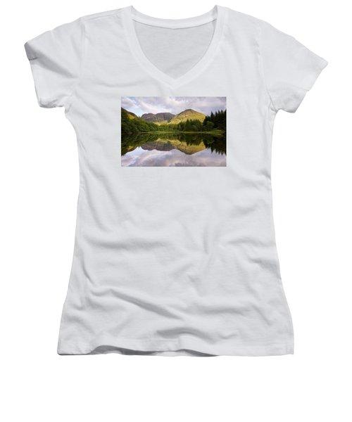 Torren Lochan Women's V-Neck T-Shirt