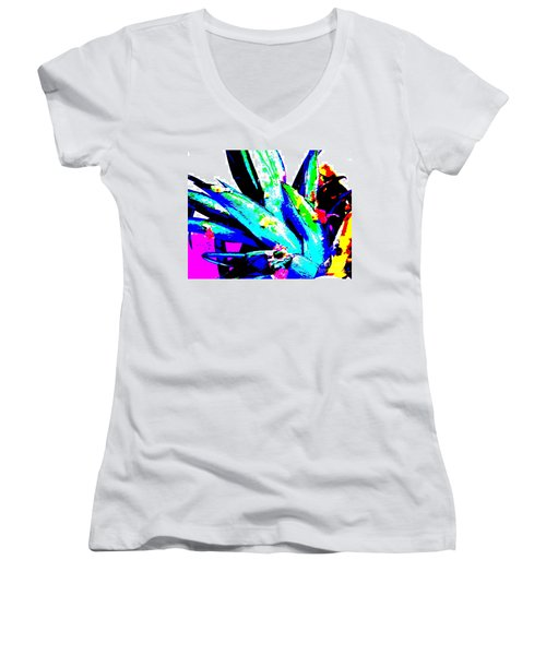 Tropical Women's V-Neck T-Shirt