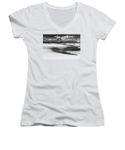 White Sands Afternoon Women's V-Neck (Athletic Fit)