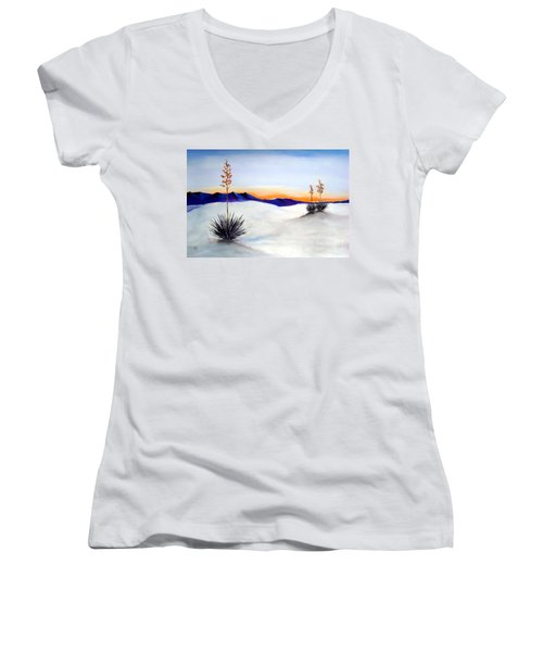 White Sands Women's V-Neck