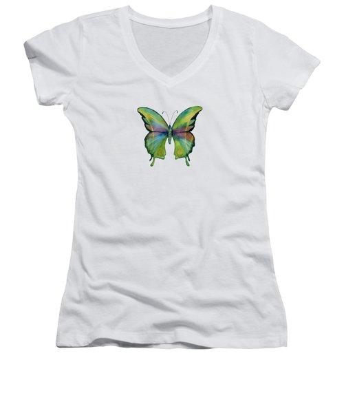 11 Prism Butterfly Women's V-Neck