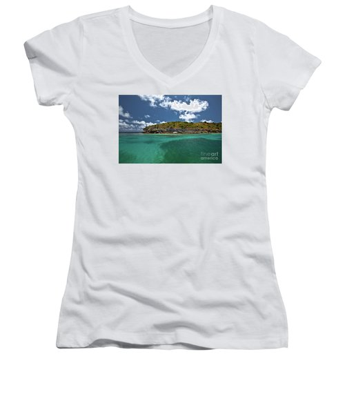 Sea And Clouds Women's V-Neck