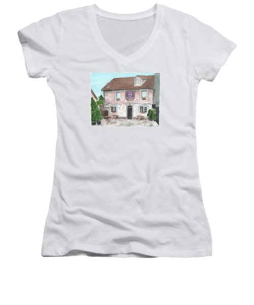 1775 Cafe De La Place Women's V-Neck