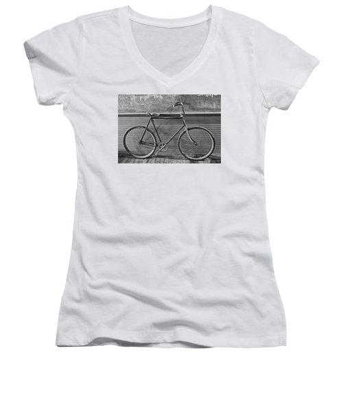 1895 Bicycle Women's V-Neck