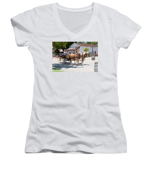 Old Town San Diego Women's V-Neck T-Shirt