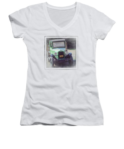 1926 Chevrolet Truck Women's V-Neck (Athletic Fit)