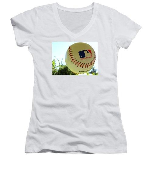 Baseball Women's V-Neck