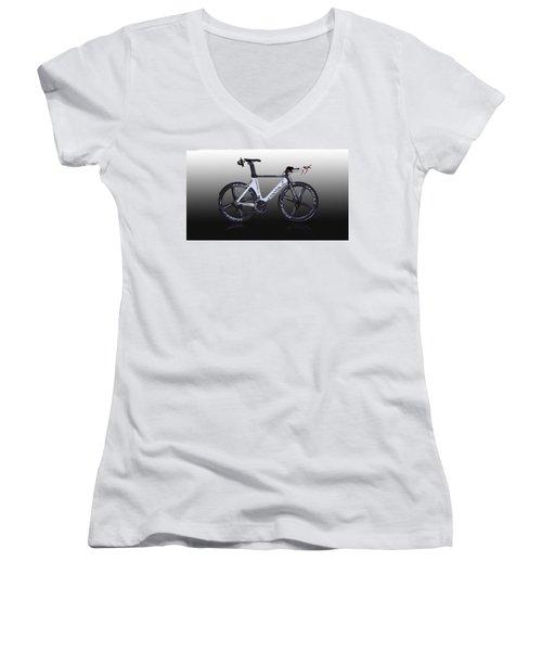 Bicycle Women's V-Neck