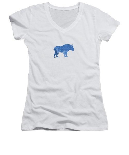 Goat Women's V-Neck T-Shirt
