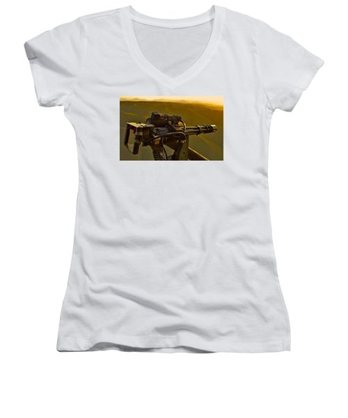 Machine Gun Women's V-Neck