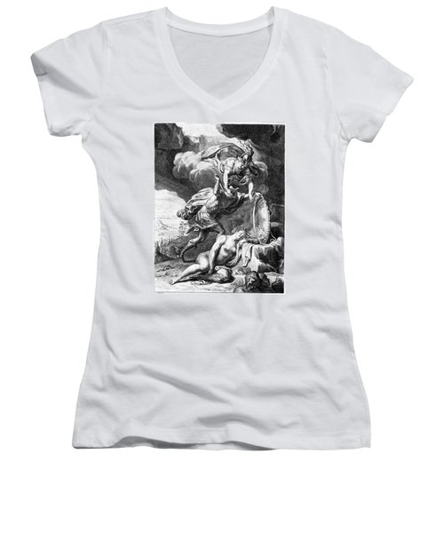 Mythology: Perseus Women's V-Neck (Athletic Fit)