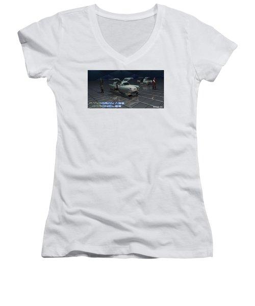 Sci Fi Women's V-Neck (Athletic Fit)
