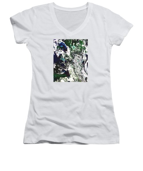 Space Odyssey Women's V-Neck (Athletic Fit)