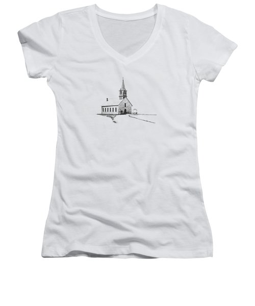 St. Olaf Lutheran Church Women's V-Neck T-Shirt