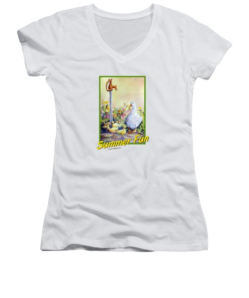 Summer Fun Women's V-Neck