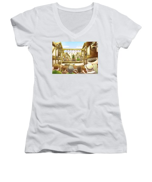 The Army Of God Captures London Women's V-Neck