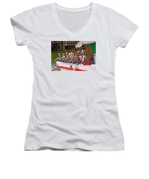 The Diner Women's V-Neck T-Shirt