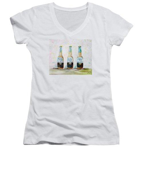 Three Amigos Women's V-Neck T-Shirt