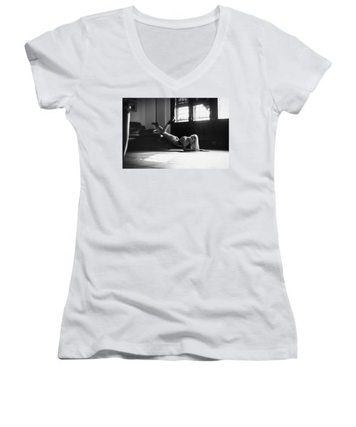 Women's V-Neck T-Shirt (Junior Cut) featuring the photograph .. by Traven Milovich