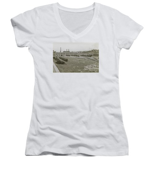 207th Street Railyards Women's V-Neck (Athletic Fit)