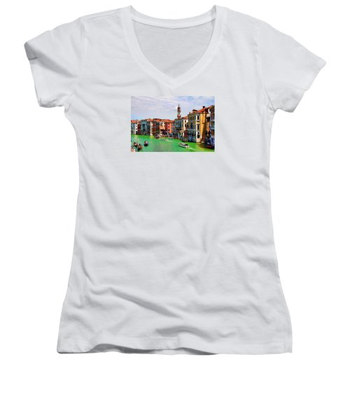 Venice - Untitled Women's V-Neck T-Shirt