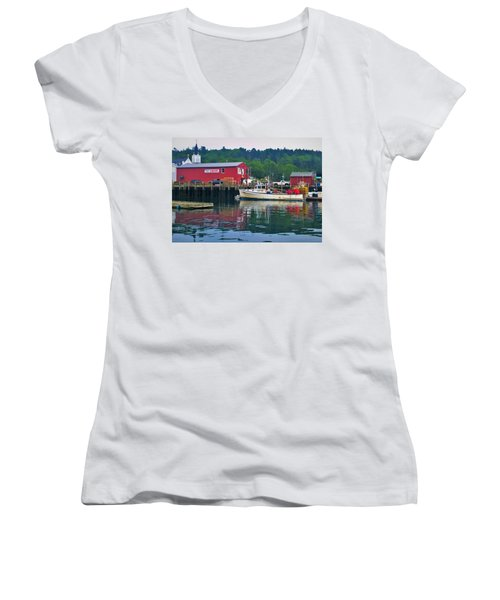 Booth Bay Women's V-Neck (Athletic Fit)