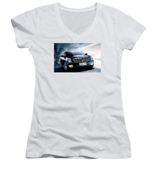 Cadillac Women's V-Neck
