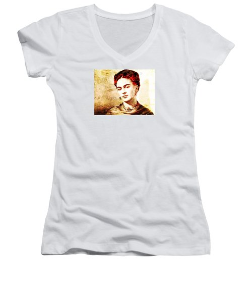 Frida Women's V-Neck T-Shirt