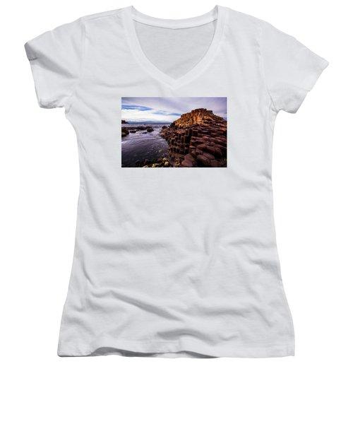 Giant's Causeway Women's V-Neck T-Shirt