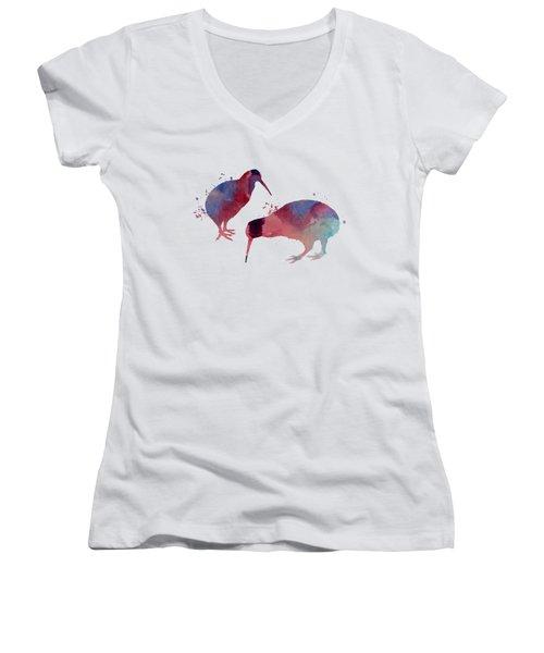 Kiwis Women's V-Neck T-Shirt