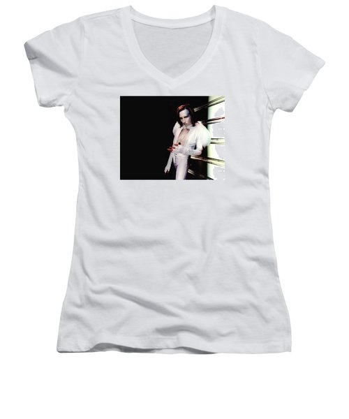 Marilyn Manson Women's V-Neck