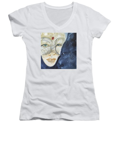 #3 Witchy Woman Women's V-Neck T-Shirt