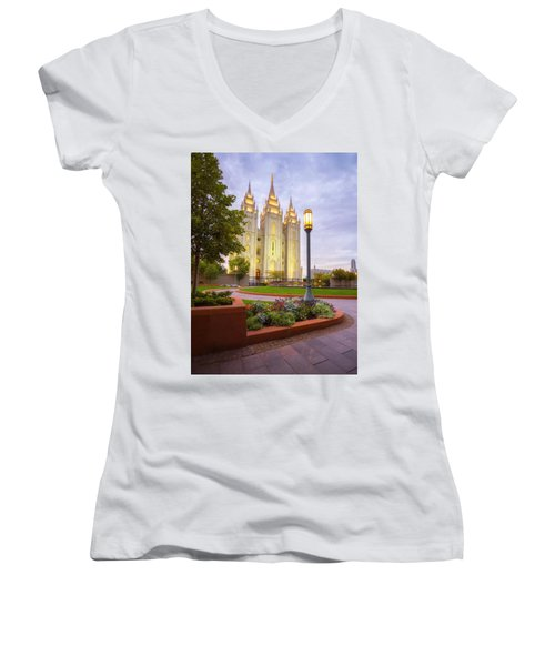 Salt Lake Temple Women's V-Neck
