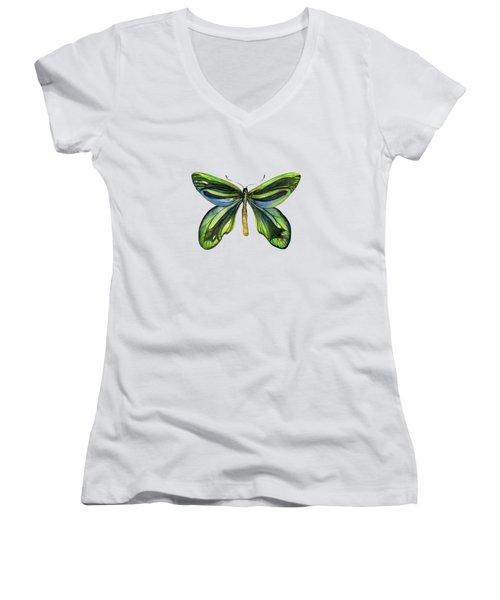 6 Queen Alexandra Butterfly Women's V-Neck