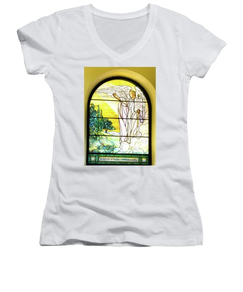 Saint Anne's Windows Women's V-Neck