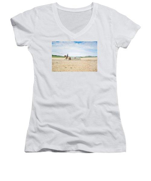 Landscape Women's V-Neck