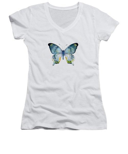 68 Laglaizei Butterfly Women's V-Neck