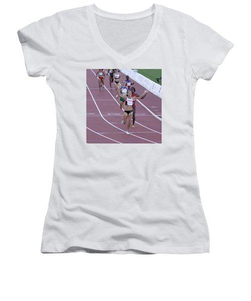 Pam Am Games Athletics Women's V-Neck (Athletic Fit)