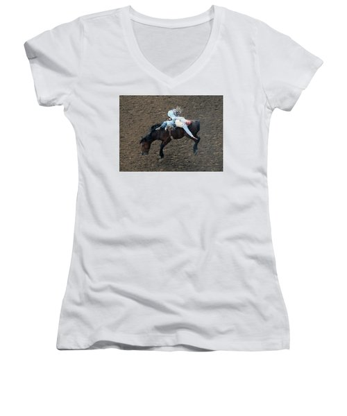 8 Seconds Women's V-Neck T-Shirt