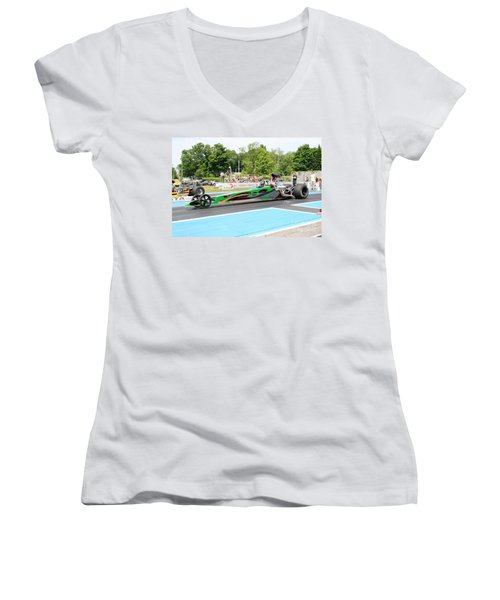 8827 06-15-2015 Esta Safety Park Women's V-Neck (Athletic Fit)