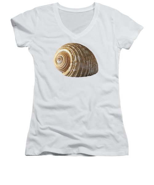 Sea Shell Women's V-Neck (Athletic Fit)