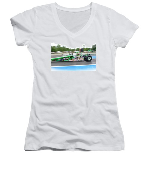 9073 06-15-2015 Esta Safety Park Women's V-Neck (Athletic Fit)