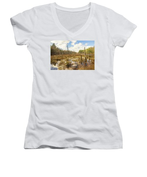 A Connecticut Marsh Women's V-Neck (Athletic Fit)