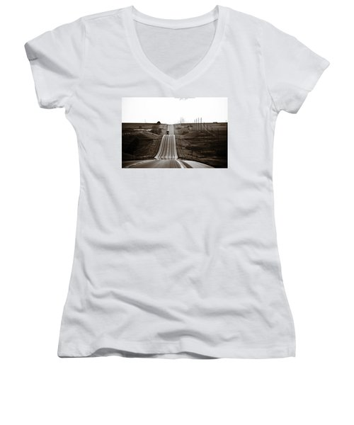A Country Mile 1 Women's V-Neck (Athletic Fit)