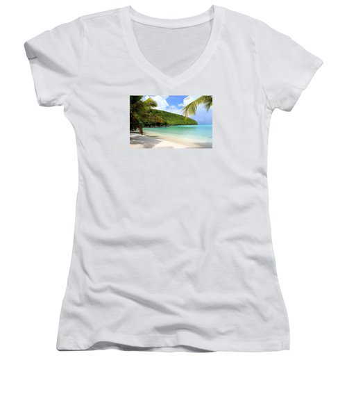 A Day With My Best Friend Women's V-Neck T-Shirt