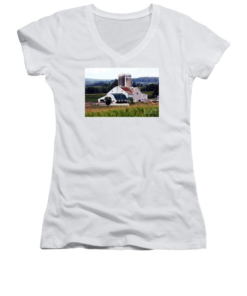 A Farmer's Paradise Women's V-Neck (Athletic Fit)